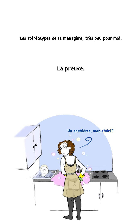 Marilyn à la cuisine